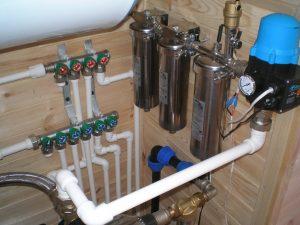 Организация водоснабжения в загородном доме
