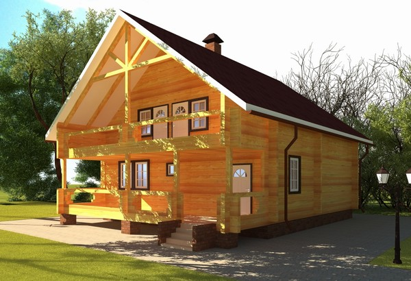 Поговорим про дом из дерева