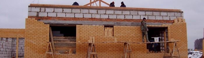 Как построить дом своими руками из кирпича  719