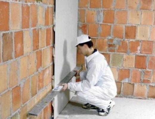 Монтаж гипсокартонных листов к стене
