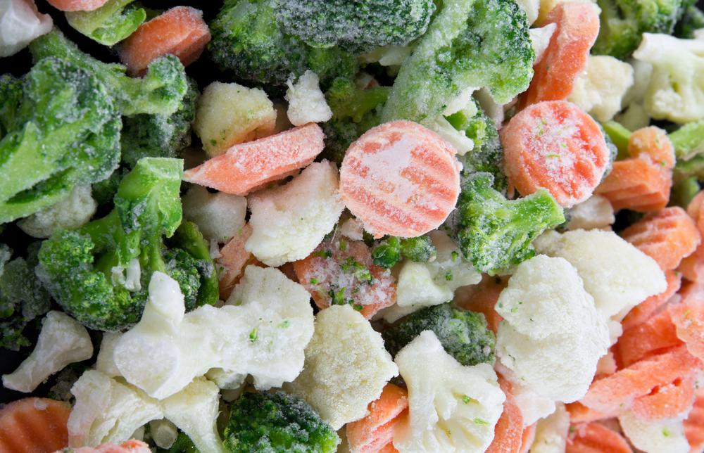 Как правильно заморозить овощи?