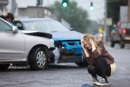 Действия водителя автомобиля при ДТП